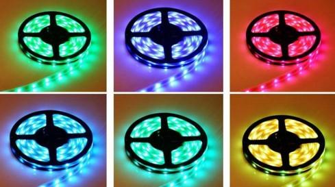 Как подключить светодиодную ленту от сети в 220 Вольт в фото