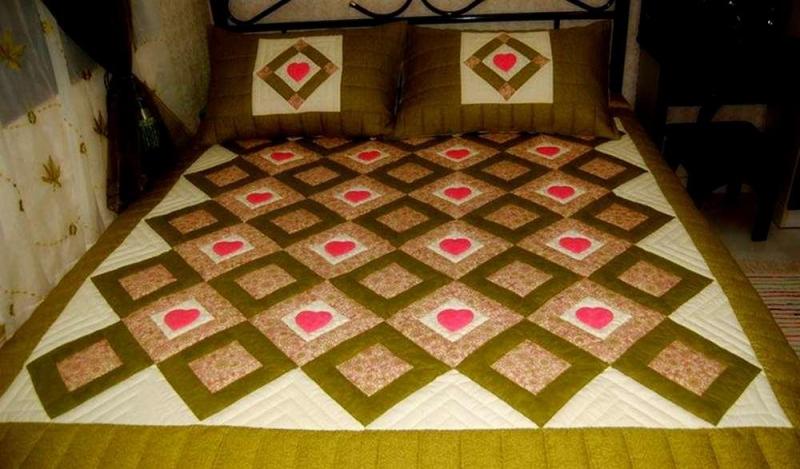 Как сшить одеяло из квадратиков своими руками 35