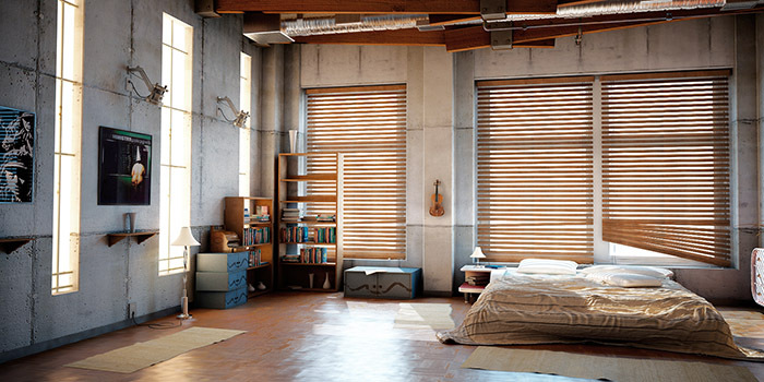 Спальня в стиле лофт своими руками: дизайн, фото