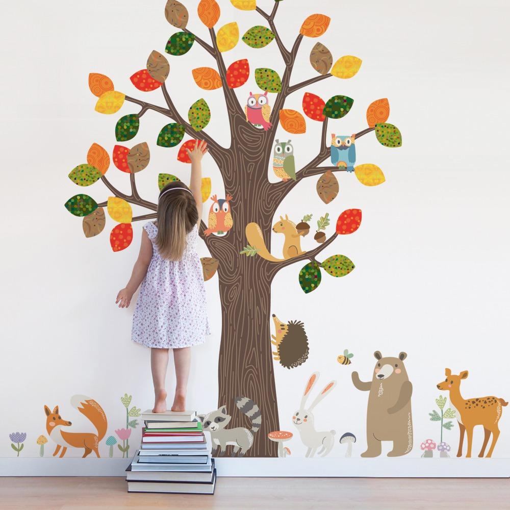 Декор стен в детской