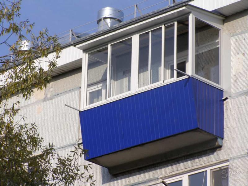 Чем отделать балкон снаружи своими руками 327