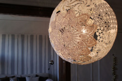 Идеи декорирования светильников своими руками в фото