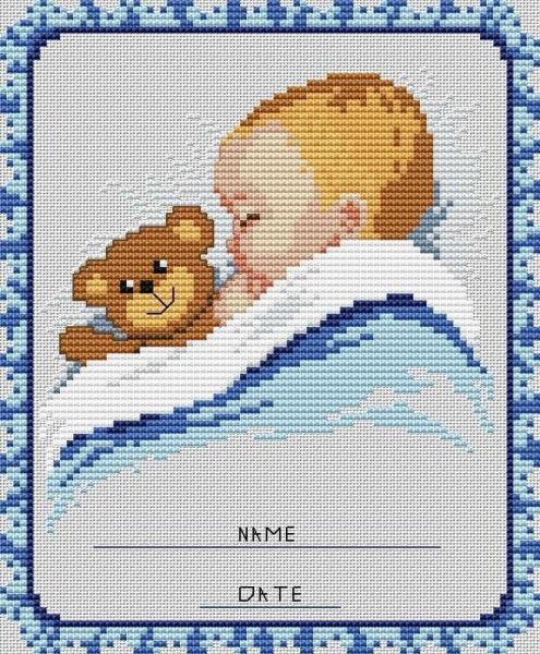 Фото схем вышивки для ребенка