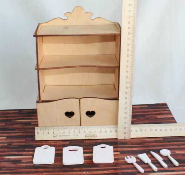 Как сделать шкаф для куклы из коробки от обуви 486
