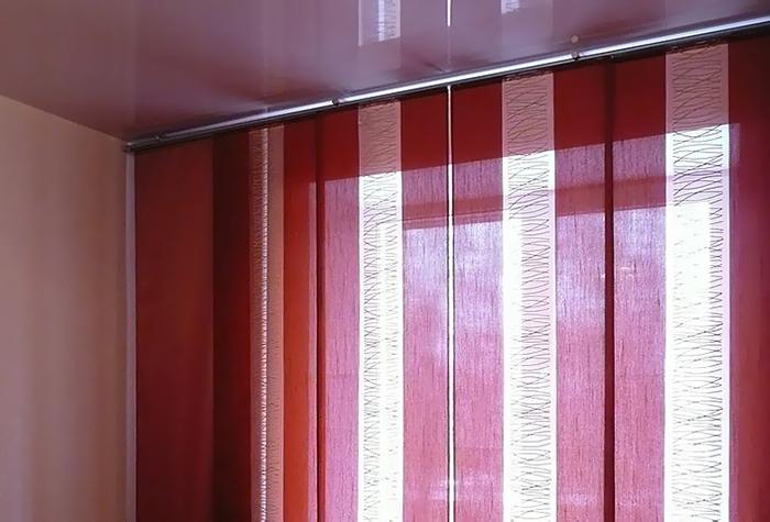 Пошить японские шторы своими руками