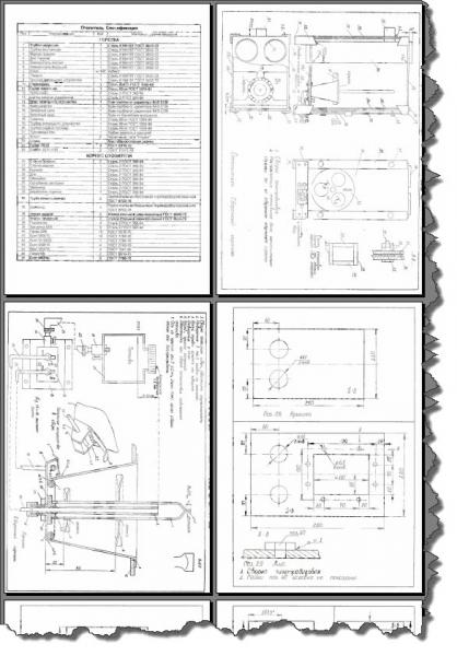 Самодельный отопитель (чертежи и схемы) в фото