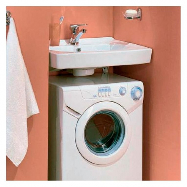 Раковина над стиральной машинкой своими руками 46