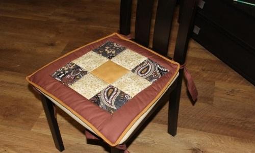 Как сделать сидушку на стул