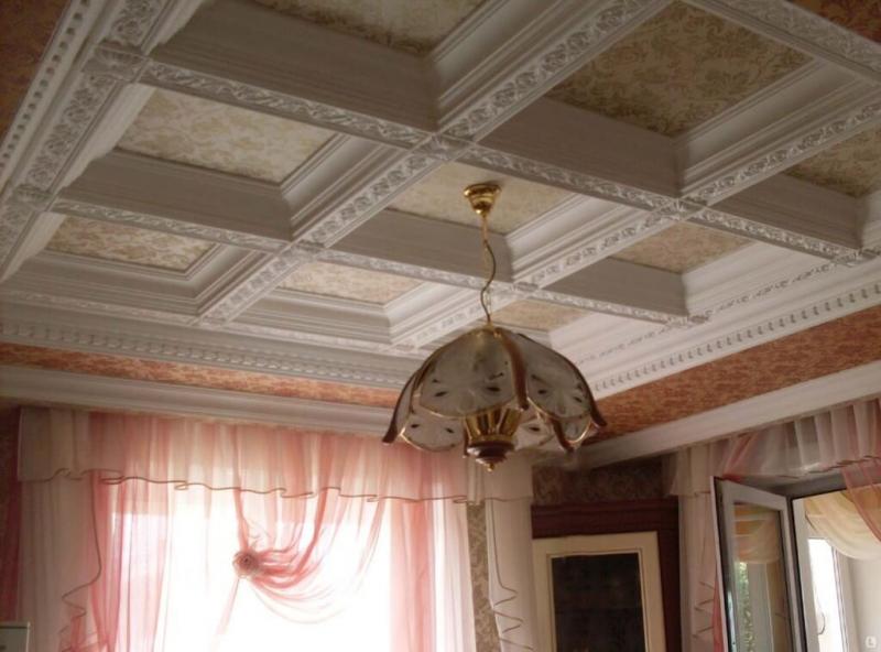 Кессонный потолок своими руками фото 97