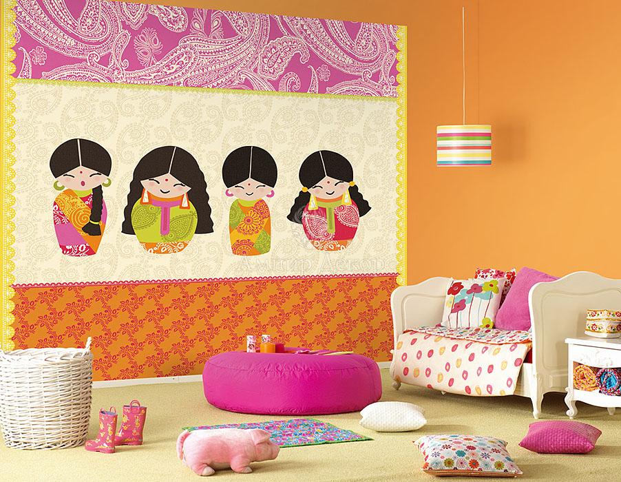 Панно на всю стену в детскую комнату
