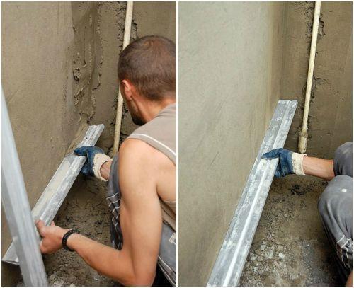 Как выровнять угол стены своими руками с помощью уголка 530