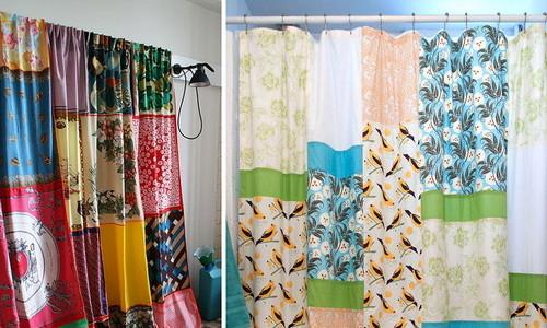 Сшить шторы из остатков ткани своими руками 9