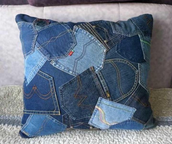 Салфетки из джинсов своими руками