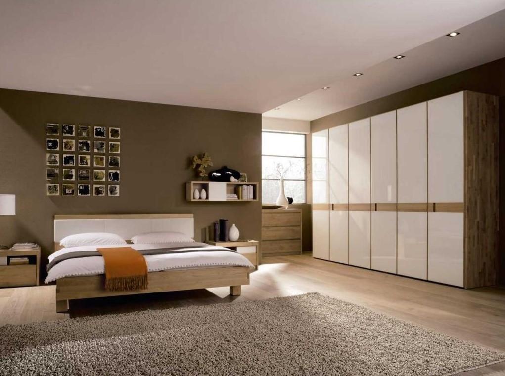 Расположение ковра в спальной комнате