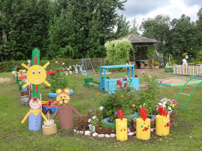 Оформление спортивного участка детского сада своими руками фото 325