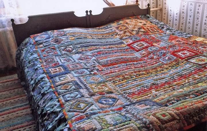 Лоскутное одеяло своими руками схемы фото 168