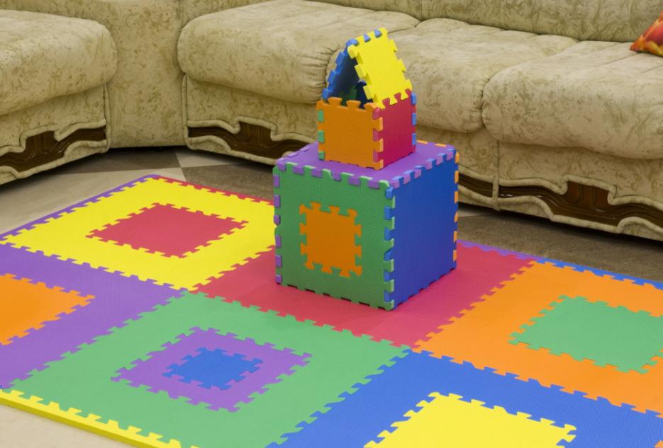 Игровой коврик-пазл