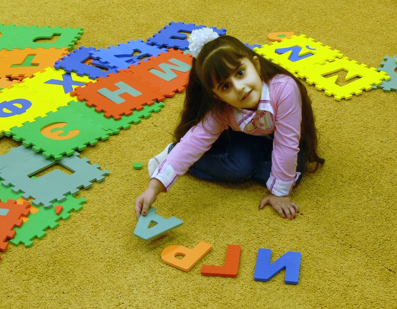Развивающий коврик-пазл для детей