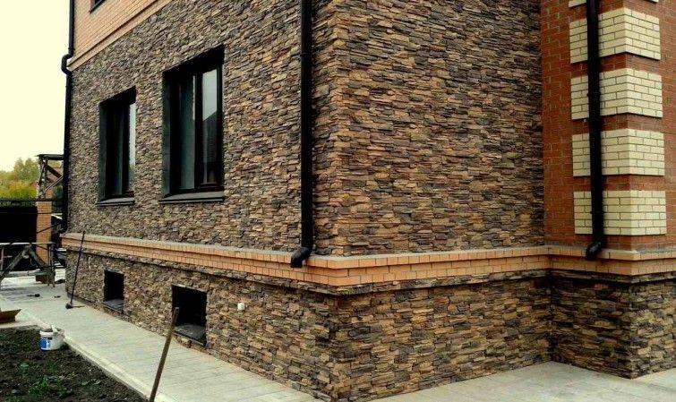 Отделка фасада штукатуркой частного дома
