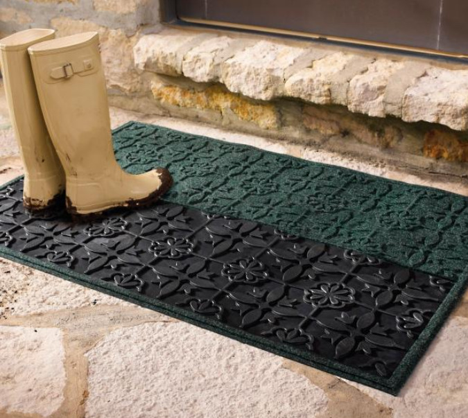 Резиновый коврик для входной зоны