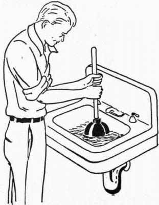 Как устранить засоры в кухонных раковинах? в фото