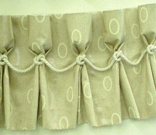 Декоративные шторы своими руками: как сшить и украсить складками в фото