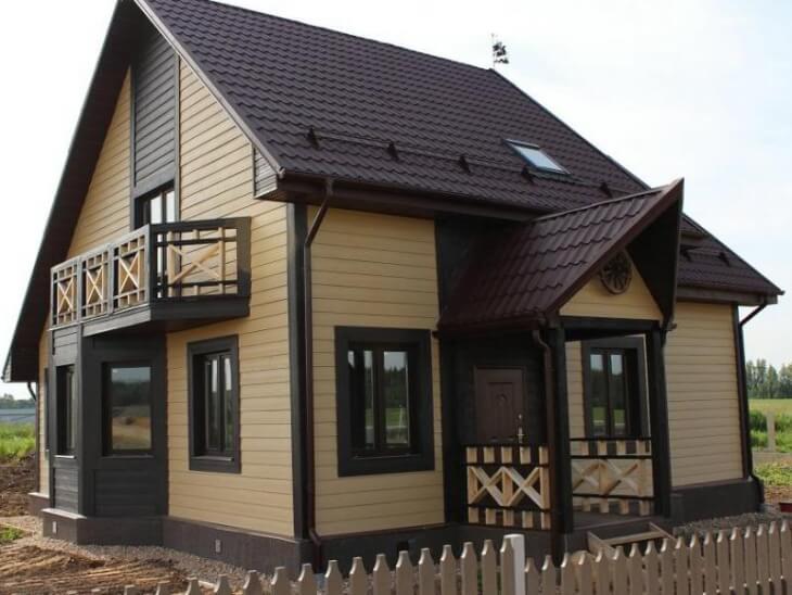 Материал для отделка фасадов частных домов цена