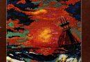 Панно «Ветер на море»