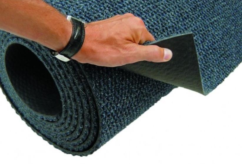 Грязезащитный ковер на резиновой основе