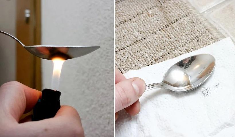 Как убрать пятна воска с ковра