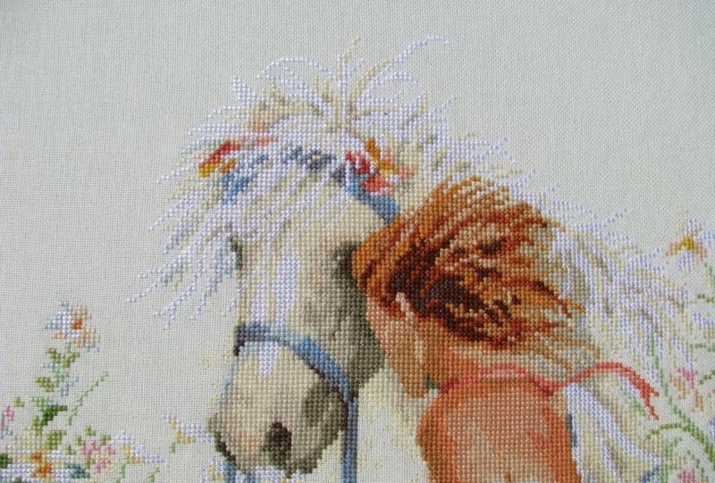 Вышивание лошадей схема