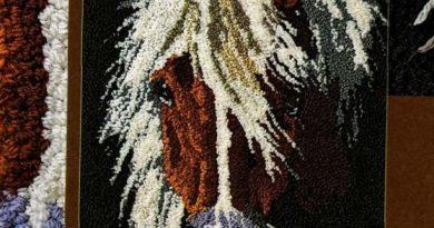 Панно «Голова лошади»