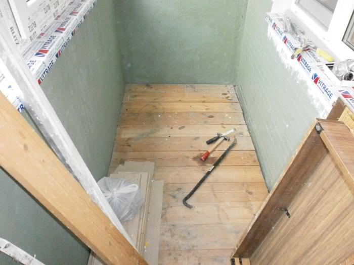 Делаем ремонт балкона своими руками поэтапно