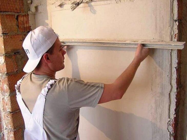 Как выровнять стены своими руками подробно 86