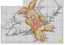Схема вышивки бесплатно малыш фото 236