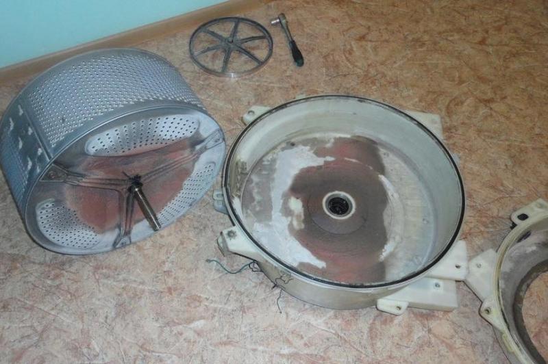 Как сделать чистку барабана 1000