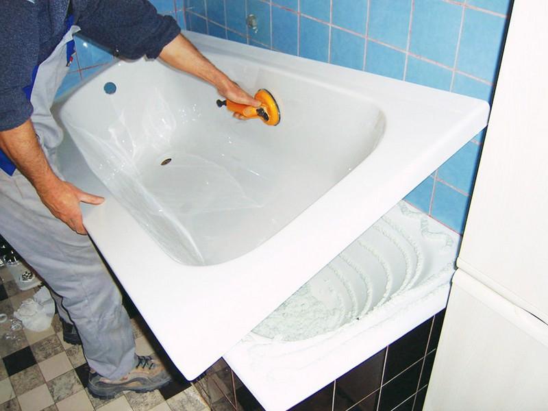Ремонт эмали ванны своими руками 61