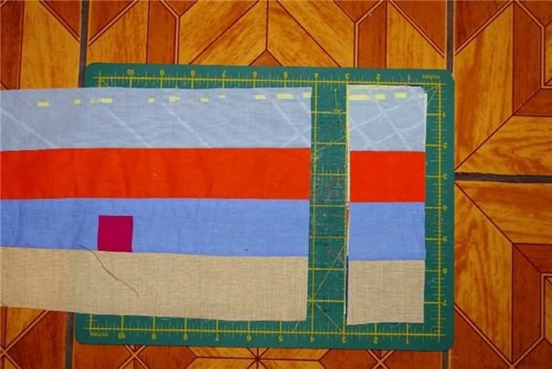Сшить плед своими руками из квадратов 14
