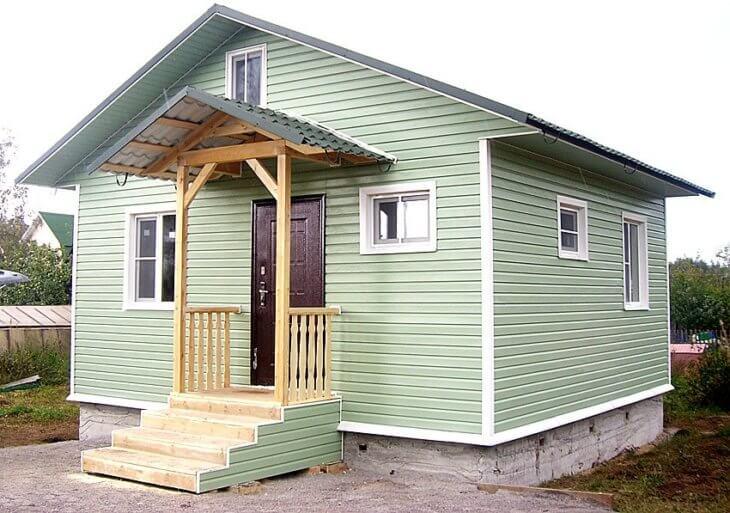 Как обшить дом сайдингом и придать фасаду уникальный вид в фото