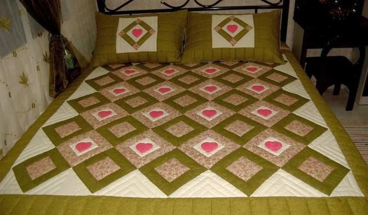 Лоскутное шитье одеяло своими руками фото 736