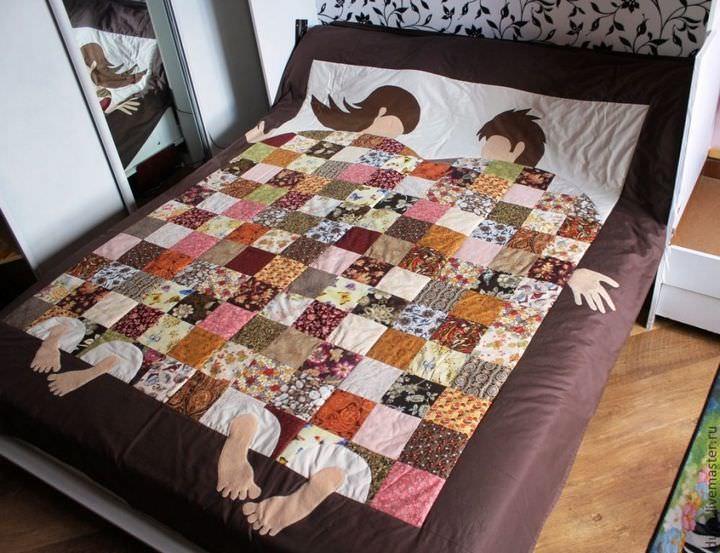 Лоскутное одеяло своими руками схемы фото 426