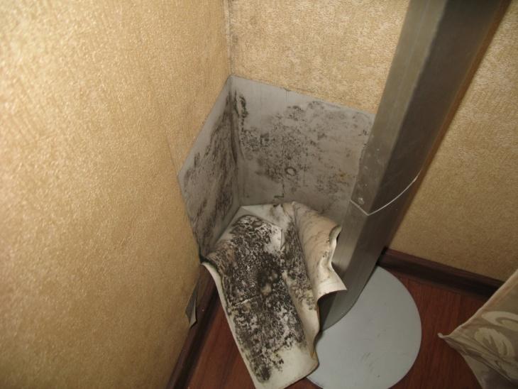 Плохая вентиляция провоцирует усиление влажности и препятствует обновлению воздуха.
