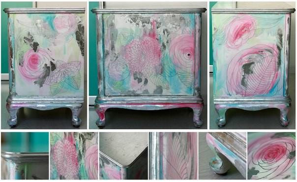 Покрасить шкаф акриловой краской своими руками 21