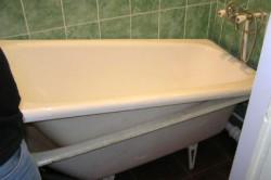 Как самому отреставрировать ванну? в фото