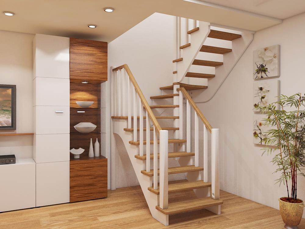 Небольшая лестница на второй этаж