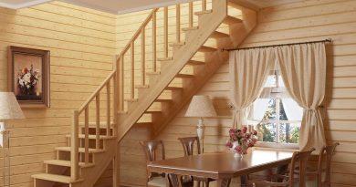 Как сделать двухмаршевую лестницу: виды конструкции, расчет и монтаж
