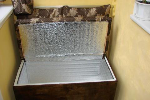 Самоделки для балкона. Ящик-диванчик для хранения овощей и полка для цветов своими руками (фото, идеи) в фото