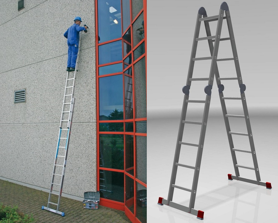 Профессиональная лестница трансформер