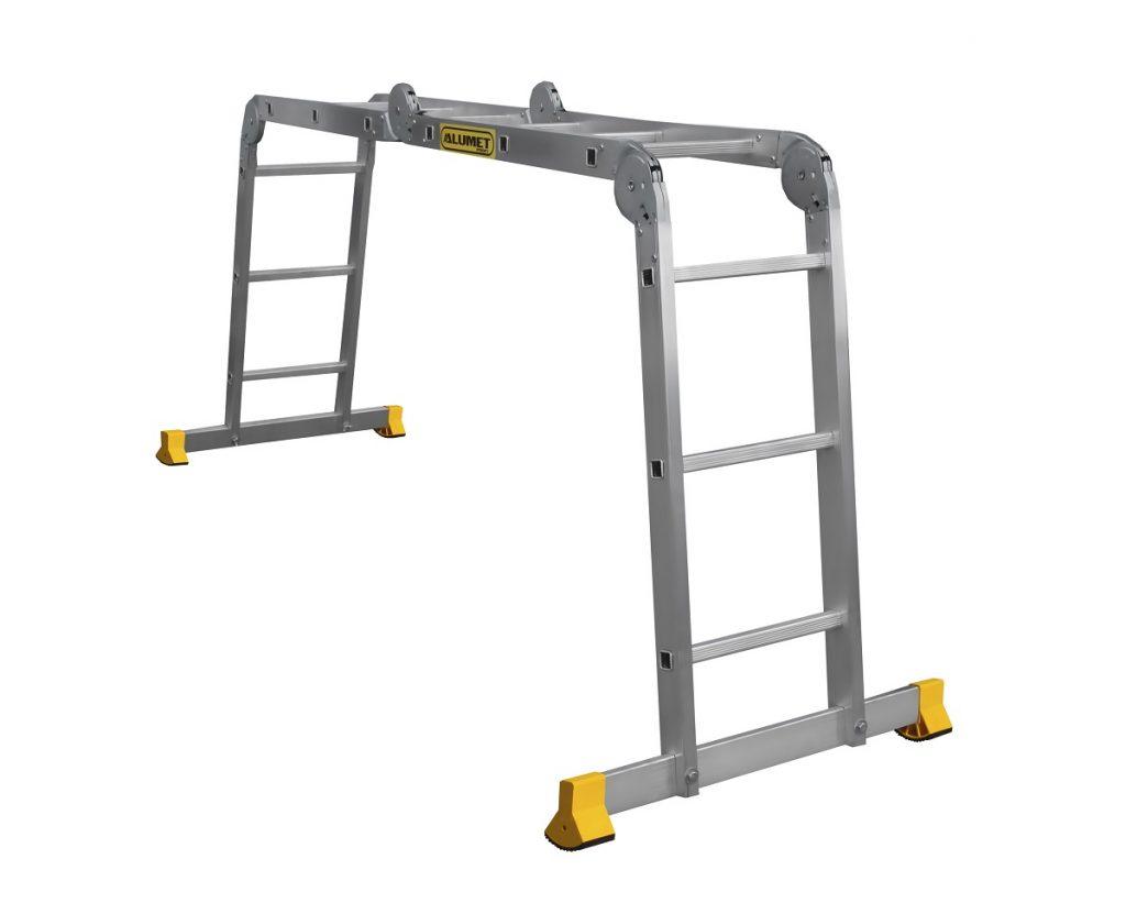 Алюминиевая лестница-трансформер длиной 3 м