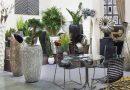 Напольная ваза как элемент декора